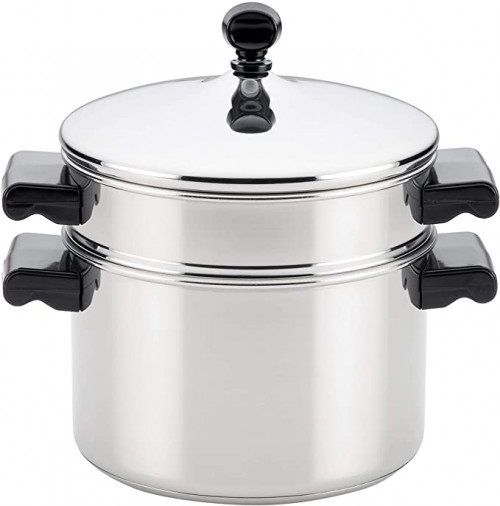 5. Farberware 70043 Stack Insert Stainless Steel Steamer