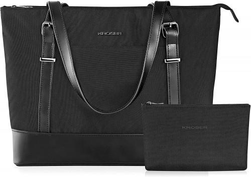 5. KROSER Laptop Tote Bag 15.6 Inch Large Shoulder Bag