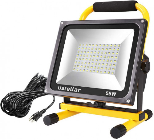 5. Ustellar 5500LM 55W LED Work Light