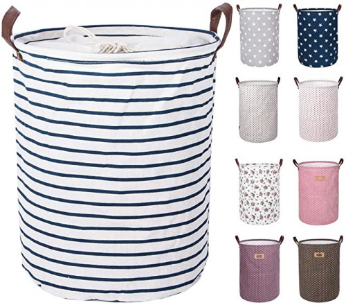 6. DOKEHOM 17.7-Inches Large Laundry Basket