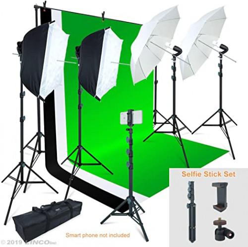 6. Linco Lincostore Photo Video Studio Light Kit