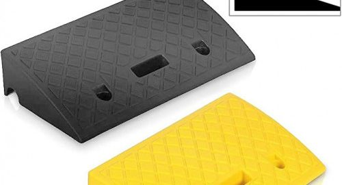 6. Pyle Portable Lightweight Plastic Curb Ramps