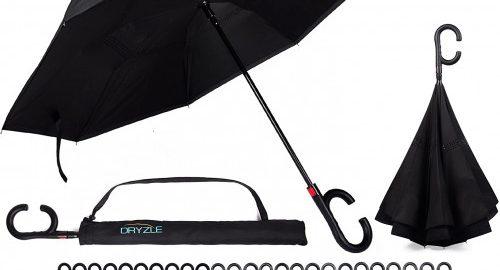6. Reverse Inverted Inside Out Umbrella