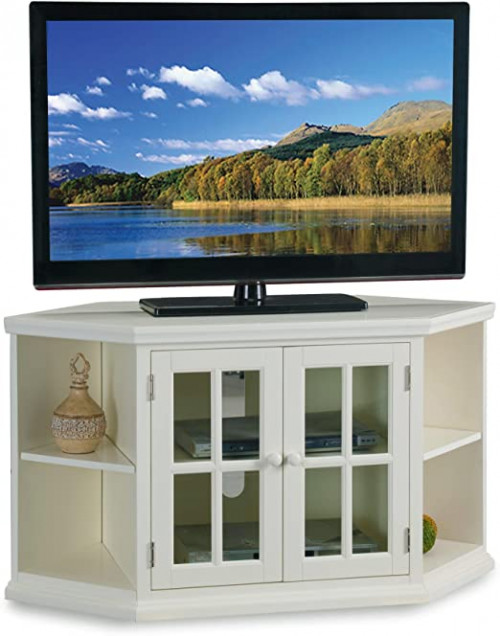# 7 - 46 in. Corner TV Stand with Bookcases