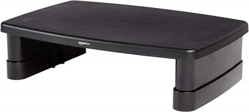 # 7 - AmazonBasics Adjustable Computer Monitor Riser Desk Stand