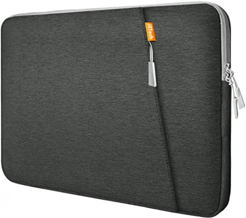 7. JETech Grey 13.3-Inch Laptop Sleeve Case with Accessory Pocket