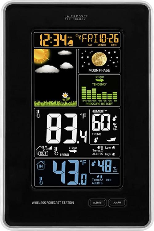 La Crosse Technology 308-1425B-INT Vertical Wireless