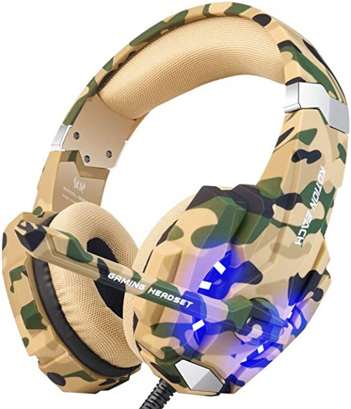 8 BENGOO Stereo Gaming Headset for PS4