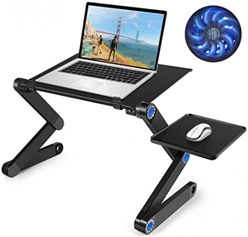 # 8 - Laptop Table, Adjustable Laptop Bed Table
