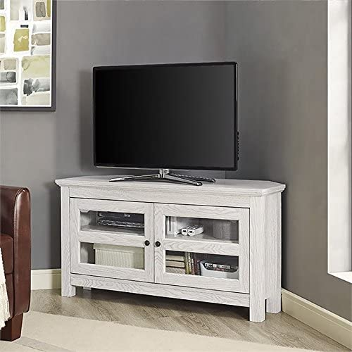 "# 8 - Pemberly Row 44"" Corner TV Stand"