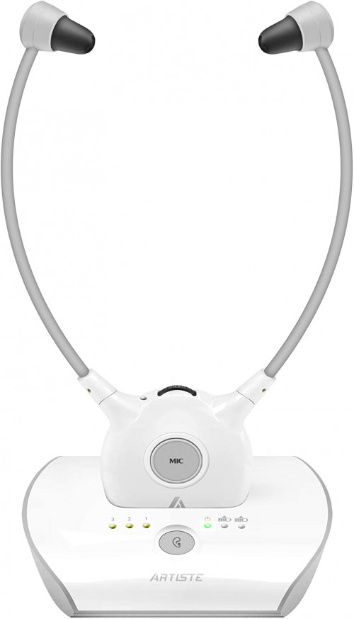 8. Artiste APH100 Wireless Headphones for TV