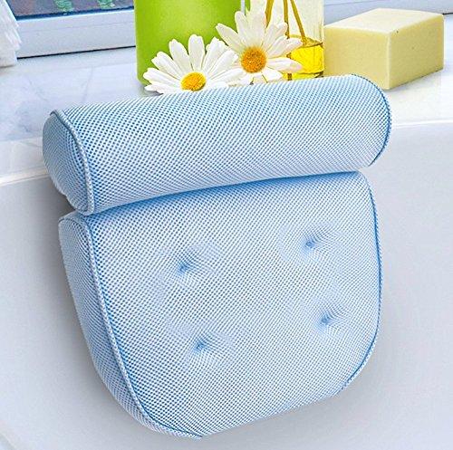 8. Kleeger Non-Slip Spa Jacuzzi Bath Pillow