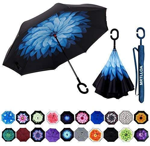 8. MRTLLOA Double Layer Inverted Umbrella
