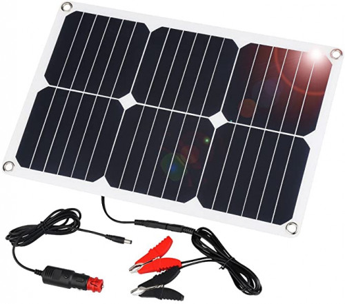 8. SUAOKI Solar Car Battery Charger