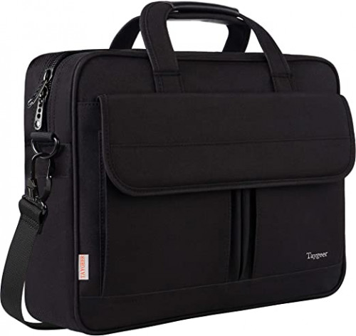 8. Taygeer Laptop Bag 15.6 Inch, Business Briefcase for Men Women