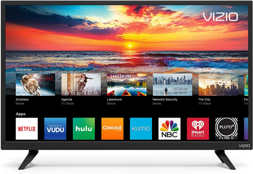 "8. VIZIO D-Series 24"" Class LED HDTV Smart TV"