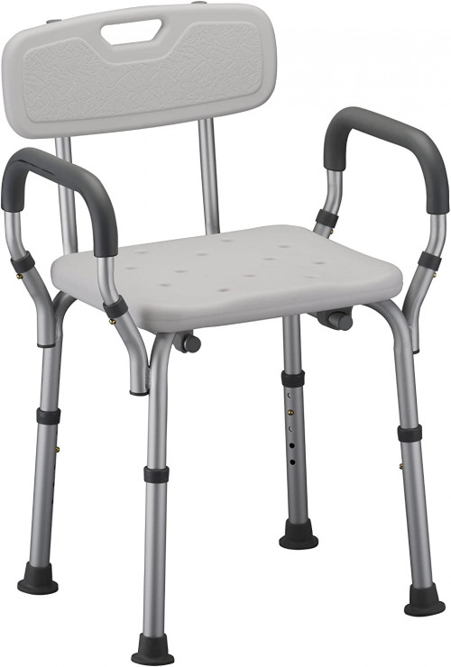 9 NOVA Shower and Bath Chair with Back and Arms
