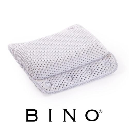 9. BINO Non-Slip Cushioned Bath Pillow