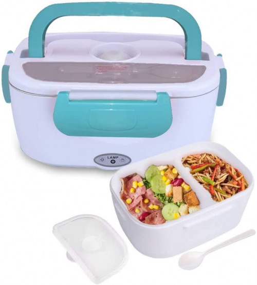 9. SANJIANKER Electric Heating Lunch Box