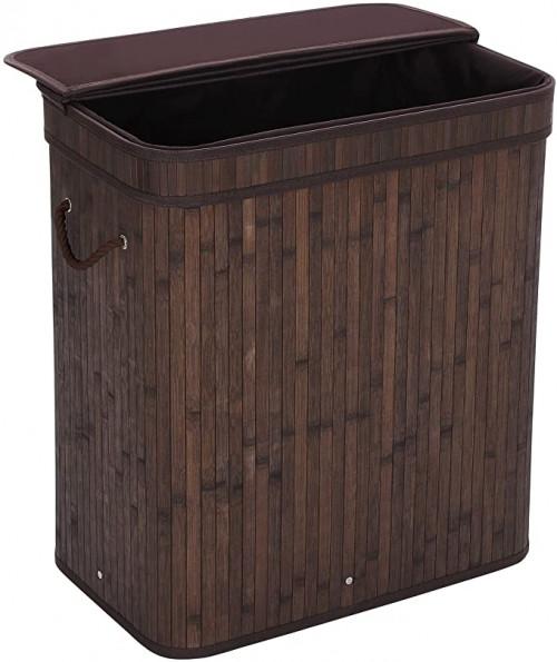 9. SONGMICS Folding Laundry Basket