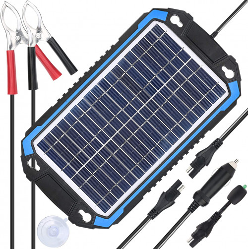 . SUNER POWER Solar Car Battery Charger