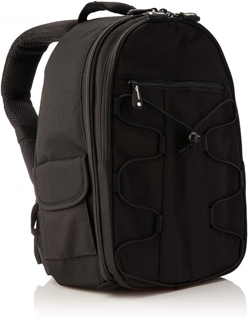 4. AmazonBasics Backpack for SLR/DSLR Cameras and Accessories