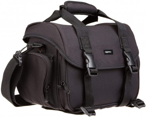 5. AmazonBasics Large DSLR Gadget Bag
