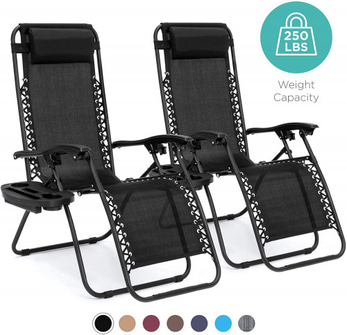 5. Best Choice Products Zero Gravity Chairs