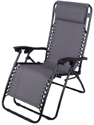 6. Outsunny Zero Gravity Recliner Lounge Patio Pool Chair