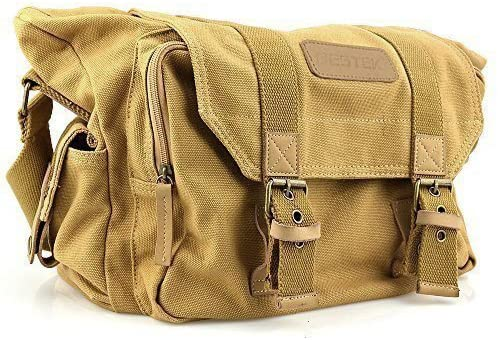 7. Bestek Waterproof Canvas SLR DSLR Digital Camera Bag