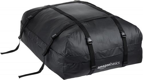 #1. AMAZONBASICS Cargo Roof Bag
