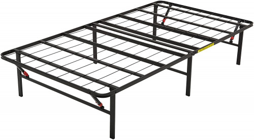 #1. AmazonBasics Foldable Bed Frame