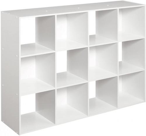 #1. CLOSETMAID 12-cube organizer