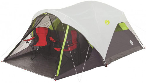 #1. Coleman Heavy Duty 5 People Camping Tent