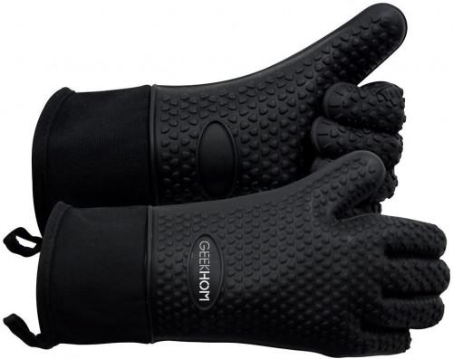 #1. GEEKHOM bbq Gloves