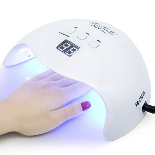 #1. LKE Nail Polish Dryer with 3 Timers