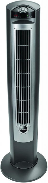 #1. Lasko 3-speed Tower Heater
