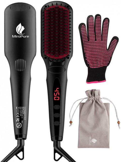 #1. MiroPure 2-in-1 Ionic hairbrush