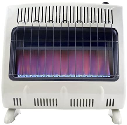 #1. Mr. Heater Blue Flame Natural Gas Heater