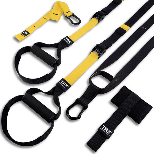 #1. TRX Bodyweight Suspension Training Straps