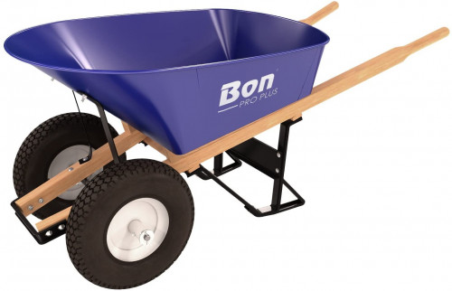 #10. Bon Tool 2 Wheel Wheelbarrow