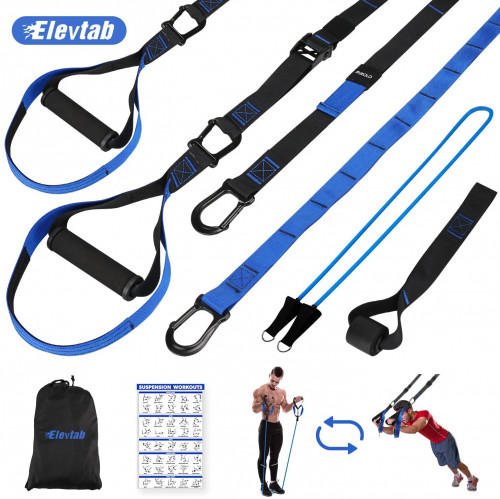 #10. Elevtab 2-in-1 Suspension Training Straps