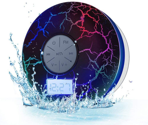 #10. KGG Waterproof Shower Speaker