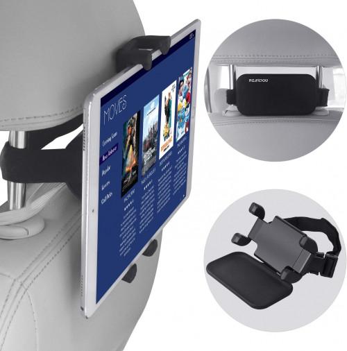 #10. NEARPOW iPad Holders for Car Back Seat