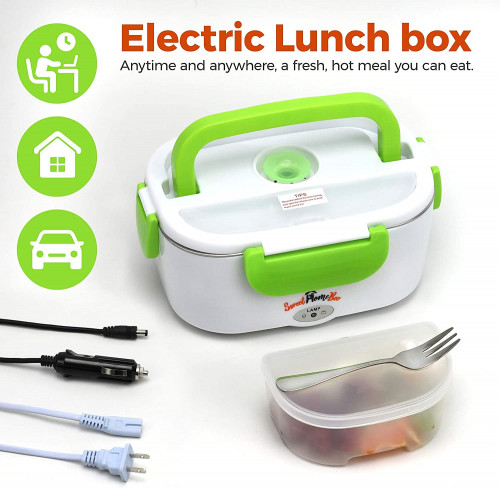 #10. Sweet Home Fast-heating Bee Electric Lunch Box