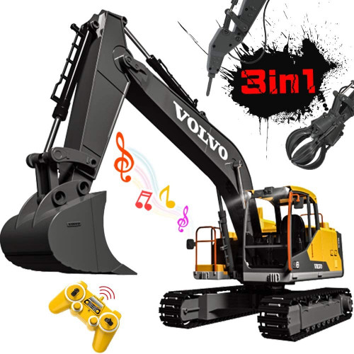 3-in-1 Control Excavator with remote control