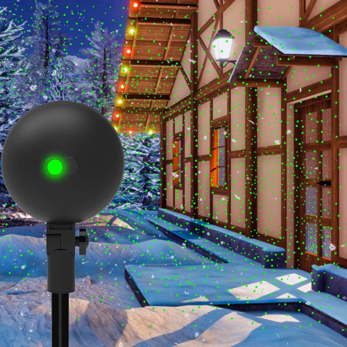#2. Auxiwa Mountable Christmas Projection Lights
