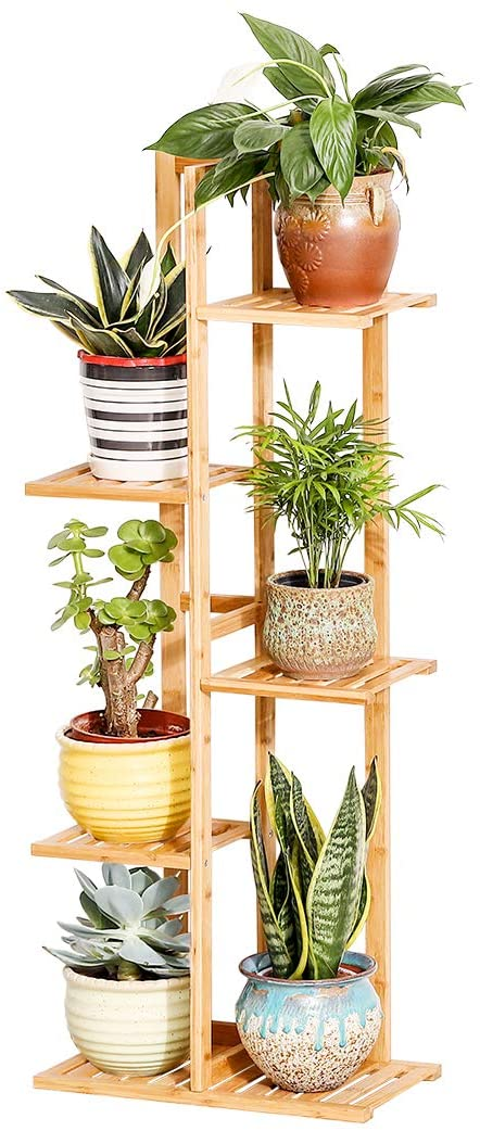 #2. COPREE 5-Layer Indoor Plant Stands for Multiple Plants