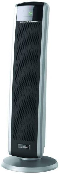 #2. Lasko Tower Heater with Remote Control