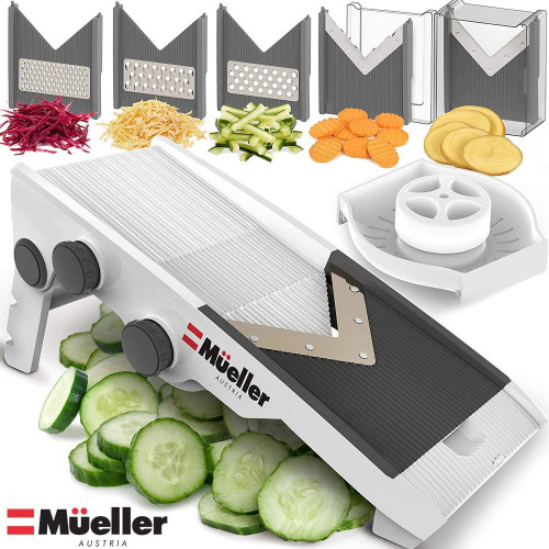 #2. Mueller Austria Vegetable Slicer